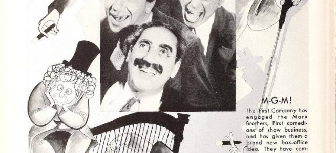 The Marx Brothers, June 1935