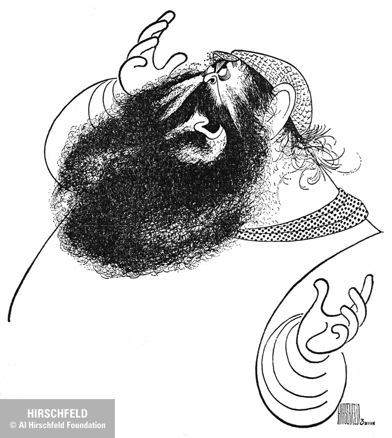 zero FIDDLER ON THE ROOF mostel, 1977